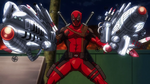 Deadpool With Weapons Marvel Disk Wars