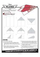Disney planes rochelle paper plane instructions 0