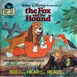 The Fox and the Hound Disney Read Along Record