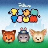 Tsum Tsum Nick Wilde, Judy Hopps, and Finnick Zootopia