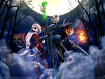 Wallpaper the nightmare before christmas oogies revenge 01 1600