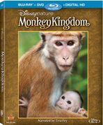 DisneynatureMonkeyKingdomBluray
