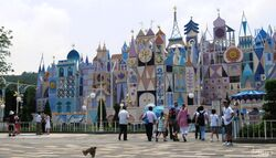 It's a Small World at Hong Kong Disneyland