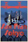 San Fransokyo Travel Poster 03