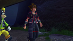 Sora entering KHIII