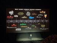 Walt Disney Studios Releasde Schedule
