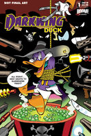 Darkwing Duck Issue 1 solicited cover