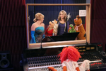 Good luck charlie muppets recording studio