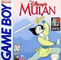 Mulan Game Boy game