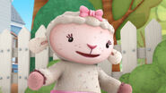 Lambie in lint