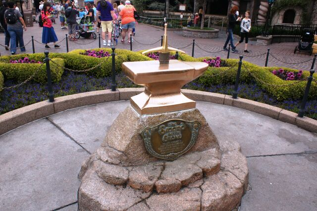File:Sword in the Stone at Disneyland.jpg