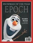 Omd frozen magazine olaf v7