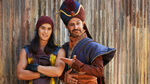 Jafar and his son Jay