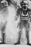 Sentry Robot Concept Sketch by George McGinnis 02