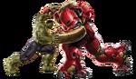 AoU Hulkbuster vs Hulk 01