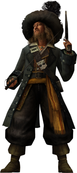 Captain Barbossa KHII