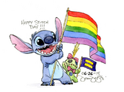 Stitch Day and Love Wins by Dean
