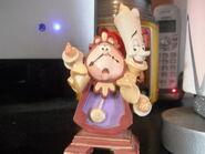 Disney store ornament lumiere and cogsworth by lionkingrulez-d5m9d4y