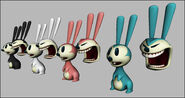 Bunny children concept art