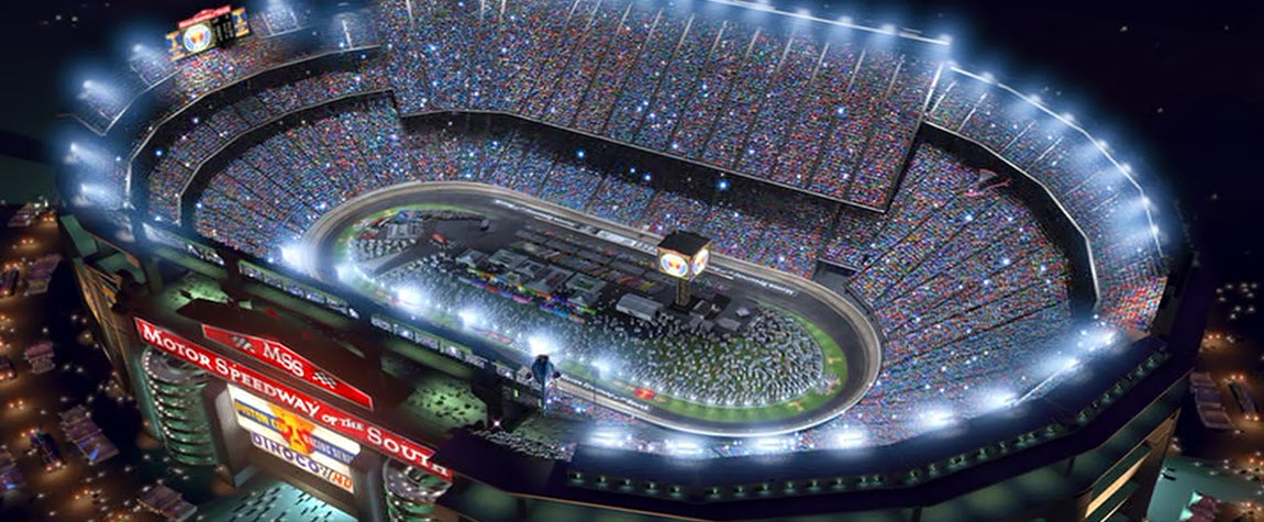 Motor speedway of the south disney wiki fandom powered for Speedway motors used cars