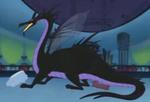 Maléfica dragón HoM