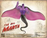 Evil Manta - Official Concept Art