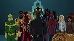Nick Fury with Spider-Man New Warriors USMWW