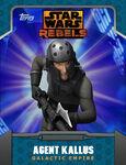 Galactic Empire - Agent Kallus
