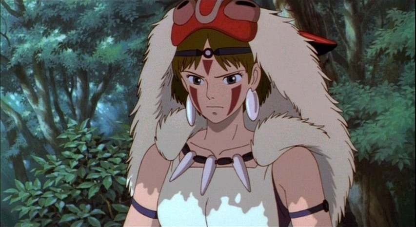 Image result for princess mononoke ashitaka and san