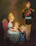 Royal Family of Arendale Portrait