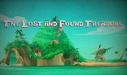 The Lost and Found Treasure title card