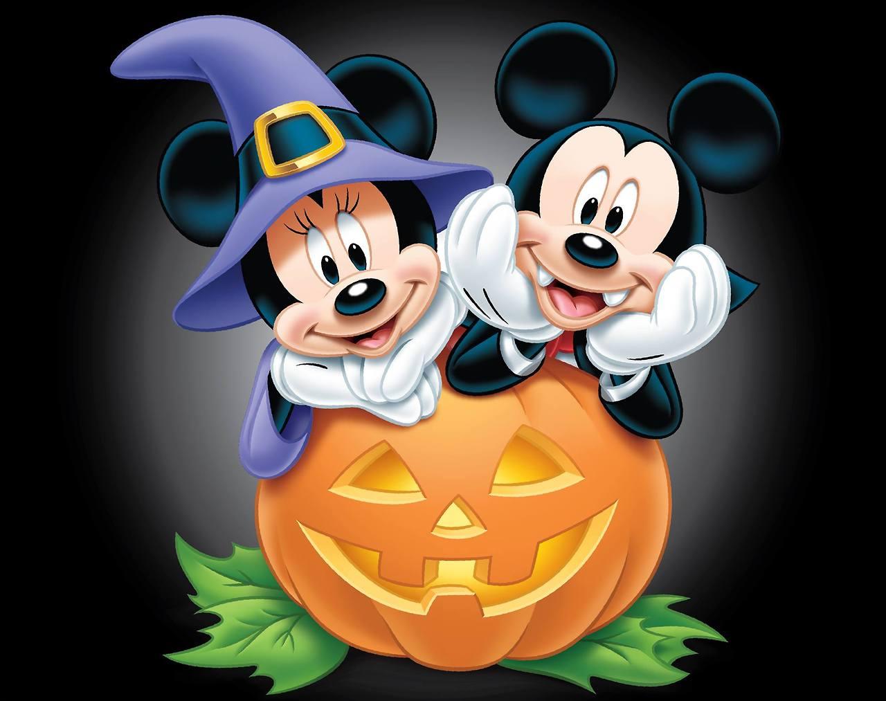 image mickey and minnie halloweenjpg disney wiki fandom powered by wikia - Mickey Minnie Halloween