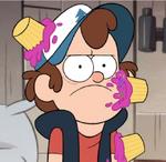 Dipper cupcakes