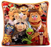 Disney store uk 2012 the muppets cushion