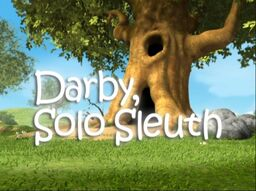01 Darby, Solo Sleuth Title Display