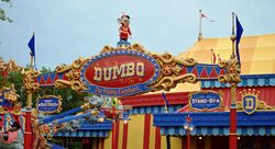 New Dumbo the Flying Elephant at Magic Kingdom