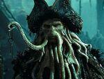 Davy Jones Holding His Key