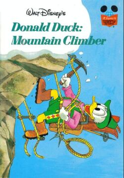 Donald duck mountain climber 2