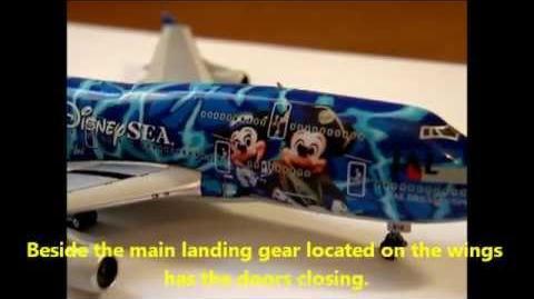 "PHOENIX MODELS - BOEING 747-446D - JAPAN AIRLINES - JAL DREAM EXPRESS ""TOKYO DISNEY SEA"" - UNBOXING"