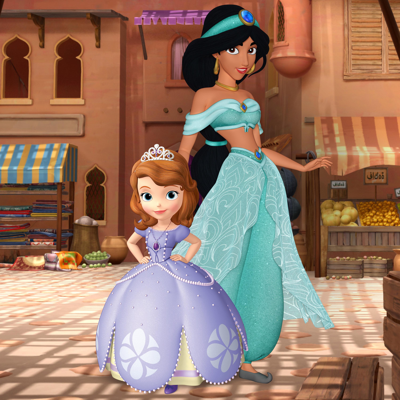Princess Jasmine on Sofia the First disney princess. Sofia the First Gallery   Disney Wiki   Fandom powered by Wikia