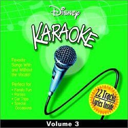 Disney karaoke volume 3