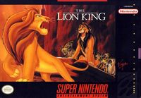 LionKing SNES Cover