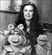 Lynda Carter, Kermit and Miss Piggy