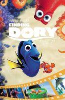 Finding Dory Cinestory Comic