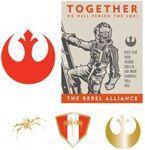 DLR - Sci-Fi Academy - Star Wars - Rebel Alliance Recruitment Pin Set (ARTIST PROOF)