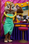 Clarice at Disneyland