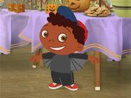 Quincy bat halloween