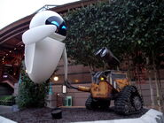 Wall-e and eve Discoveryland DLRP