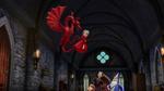 Dragon grabs Calista
