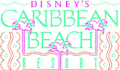 Disney Caribbean Beach Resort Logo